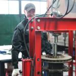 Заміна ремкомплекта ступиці DAF